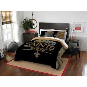 Saints 3-Piece Draft Multi Full/Queen Comforter Set