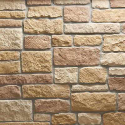 Austin Stone Tuscan Flats 150 sq. ft. Bulk Pallet Manufactured Stone