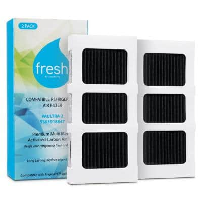 Fresh Replacement Air Filter for Frigidaire Paultra2, 242047805 Electrolux EAP12364179 (2-Pack)