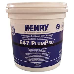 647 PlumPro 1 Gal. Luxury Vinyl Tile and Plank Flooring Adhesive