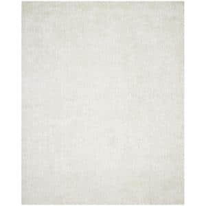 New Orleans Shag Off White 8 ft. x 10 ft. Area Rug