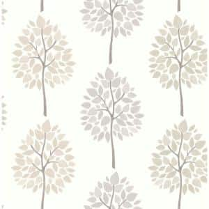 Tsai Grey Tree Grey Wallpaper Sample