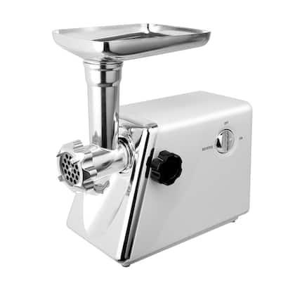 2800-Watt White Stainless Steel Meat Grinder