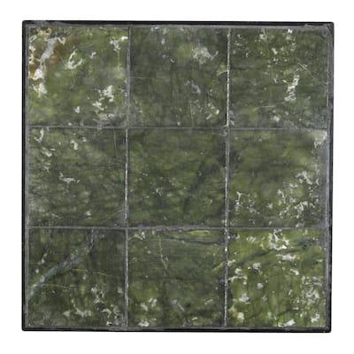 12 in. x 12 in. Jade Large Tile Decorative Garden Stone