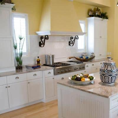 Newport Assembled 36x34.5x24 in. Plywood Shaker Sink Base Kitchen Cabinet Soft Close Doors in Painted Pacific White
