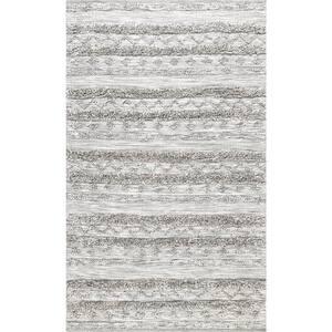 Josiah High Low Tribal Gray 5 ft. x 8 ft.  Area Rug