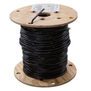 500 ft. 2 Black Stranded AL XHHW Wire