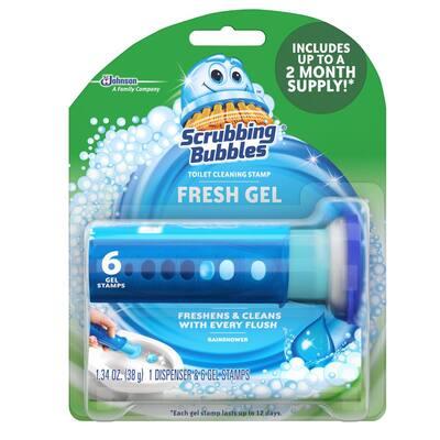 1.34 oz. Toilet Cleaning Gel, Rainshower (6-Pack)