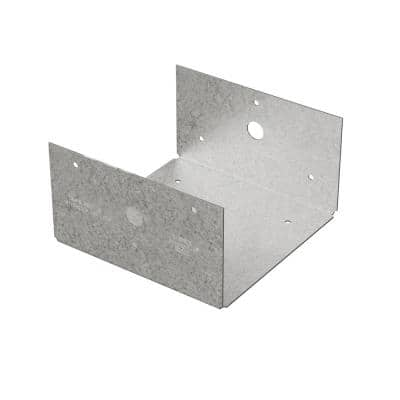 BC ZMAX Galvanized Post Base for 6x Nominal Lumber