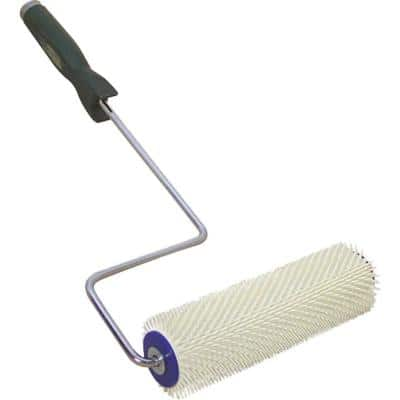 9 in. Plastic Spiked Roller with 1-1/4 in. Spikes