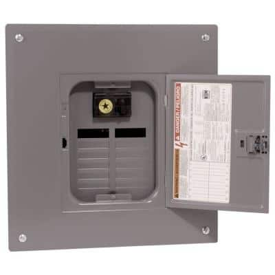 QO 100 Amp 12-Space 12-Circuit Indoor Main Breaker Load Center with Cover