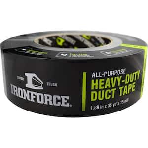 1.89 in. x 35 yd. All-Purpose Heavy-Duty Duct Tape in Gray