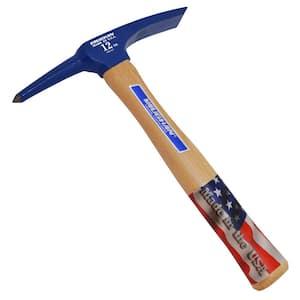 12 oz. Carbon Steel Welder's Chipping Hammer with 11.25 in. Hardwood Handle