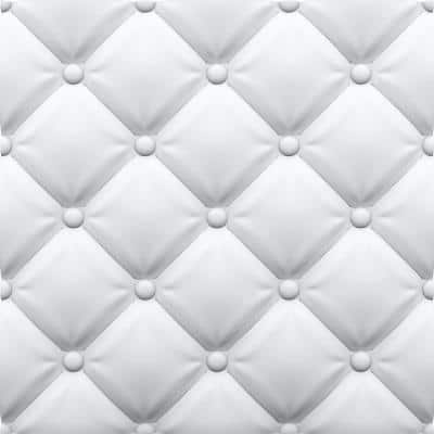 Tufted 2 ft. x 2 ft. Seamless Foam Glue-Up Wall Panel (48 Sq. Ft. / Pack)