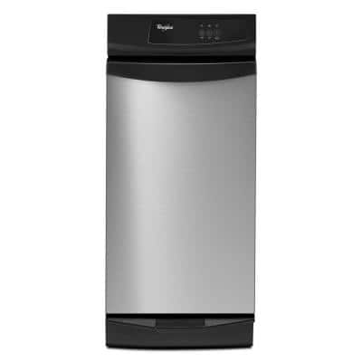 15 in. Built-In Trash Compactor in Stainless Steel