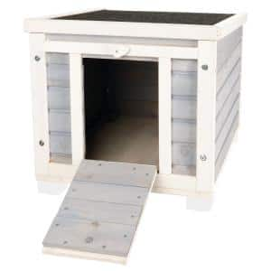 16.5 in. x 15.75 in. x 20 in. Wooden Patio Condo for Cats