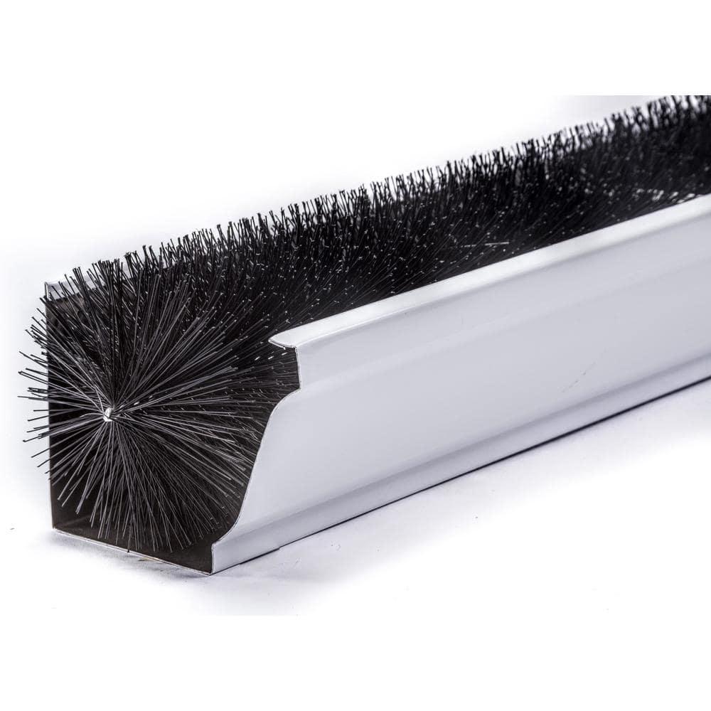 Gutterbrush Standard 5 In 15 Ft Pack Max Flow Filter Brush Gutter Guard 5in 15ft The Home Depot
