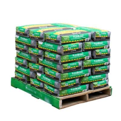 FlexBond 50 lb. Gray Fortified Thinset Mortar (35 Bags / Pallet)