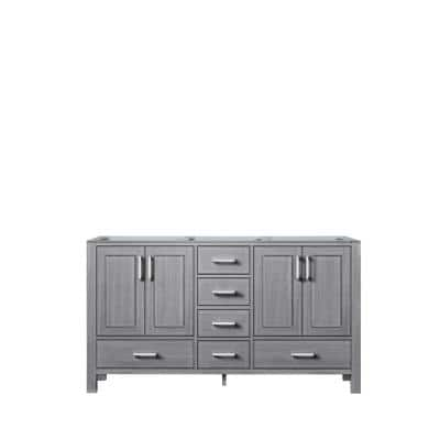 Jacques 59 in. W x 21.50 in. D  Bath Vanity Cabinet only in Distressed Grey