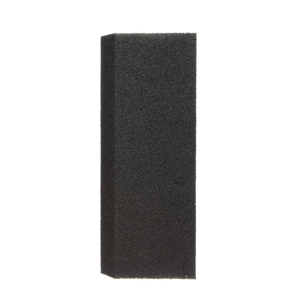 2-7/8 in. x 8 in. x 1 in. (7.30 cm x 20.32 cm x 2.54 cm) Grit Extra-Large Fine Angled Drywall Sanding Sponge (2-Pack)