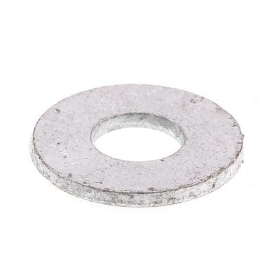 5/16 in. x 7/8 in. O.D. USS Hot Galvanized Steel Flat Washers (50-Pack)