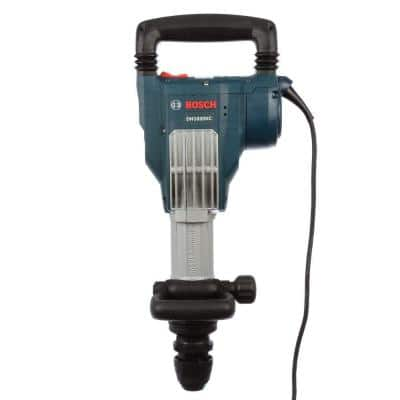 15 Amp 1-1/8 in. Corded Variable Speed SDS-Max Power Inline Demolition Hammer for Concrete with Carrying Case
