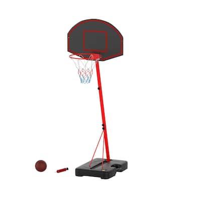 Junior Basketball Hoop with 2 Rim Height Settings