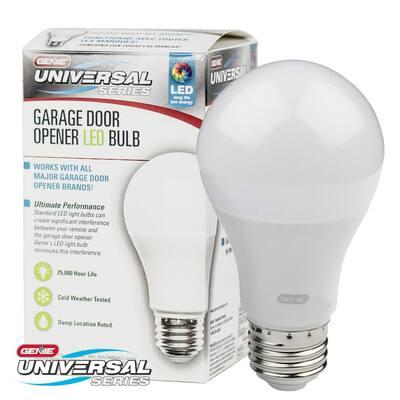 120-Watt Equivalence Universal Garage Door Opener LED Light Bulb (2-Pack)