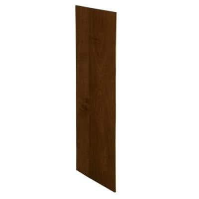 Franklin Assembled 23.25 x 96 x .25 in. Pantry/Utility Tall Skin End Panel