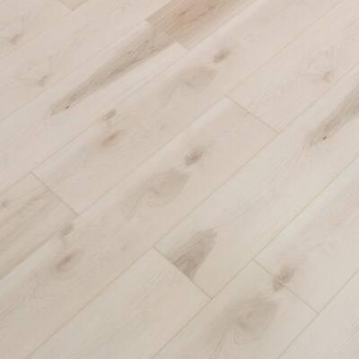 Vinyl Pro With Mute Step Afterglow Oak 7.25 in. W x 48 in. L Waterproof Luxury Vinyl Plank Flooring (24.03 sq. ft)