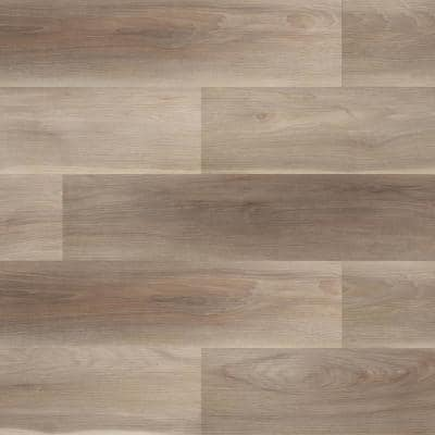 Almond Truffle Maple 7 in. x 42 in. Rigid Core Luxury Vinyl Plank Flooring (20.8 sq. ft. / case)