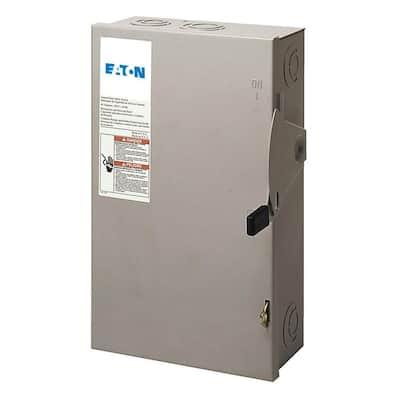60 Amp 120/240-Volt 14,400-Watt Fused Safety Switch