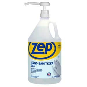 128 oz. Hand Sanitizer Gel 70% with Pump (Pack of 2)
