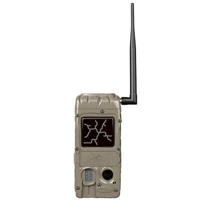 CuddeLink 20 MP 32GB SD Card Hunting and Game Trail Cameras in Tan