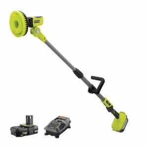 ONE+ 18V Power Scrubber with 2.0 Ah Battery and Charger Kit