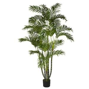 5 ft. Green Areca Silk Tree