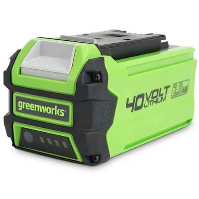40-Volt Lithium-Ion 2.0 Ah USB Battery