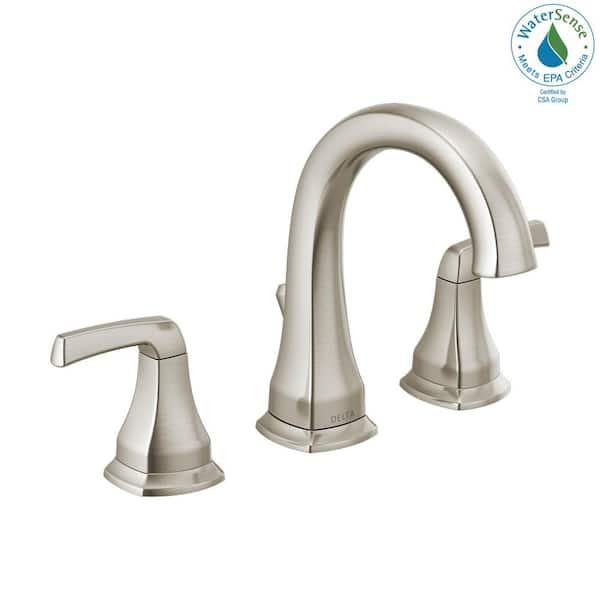 Delta Portwood 8 In Widespread 2, Delta Faucet Bathroom