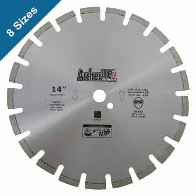 18 in. Diamond Blade for Asphalt Cutting