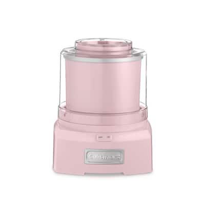 1.5 Qt. Pink Frozen Yogurt, Ice Cream and Sorbet Maker