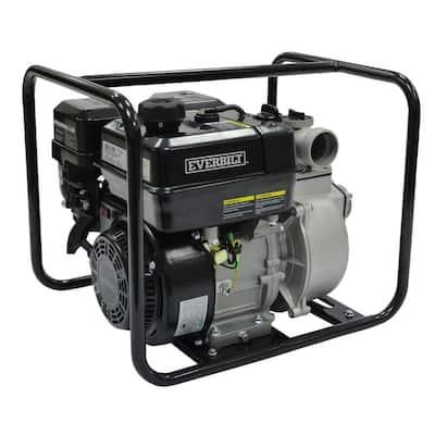 5.5 HP Gas-Powered Utility Pump