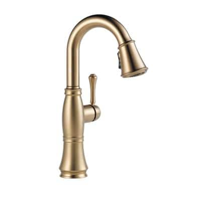 Cassidy Single-Handle Bar Faucet in Lumicoat Champagne Bronze