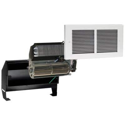 Register Multi-Watt 240-Volt In-Wall Fan-Forced Heater in White