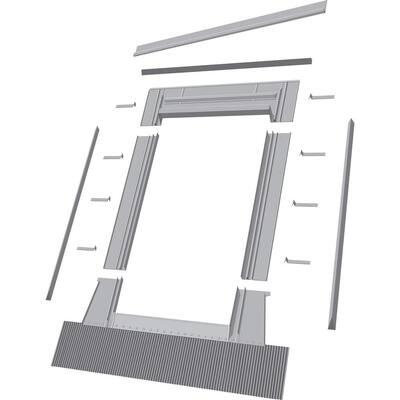 Aluminum High-Profile Tile Roof Flashing Kit for Deck Mount Skylight
