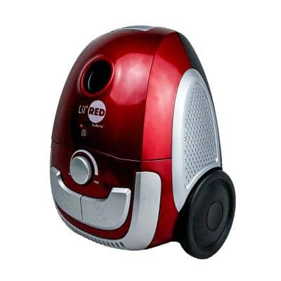 LilHEPA Canister Vacuum Cleaner in Red