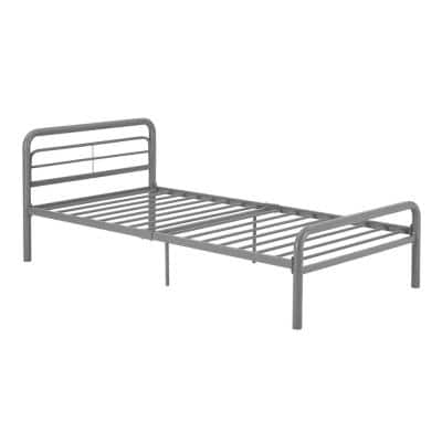 Silver Twin Bed Frame