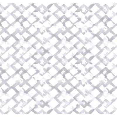 "18""X6' GRIP PRINT PREM TRELLIS GRAY"