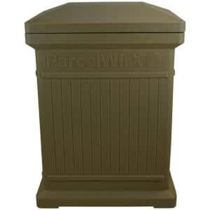 ParcelWirx Oak Vertical Package Delivery Box