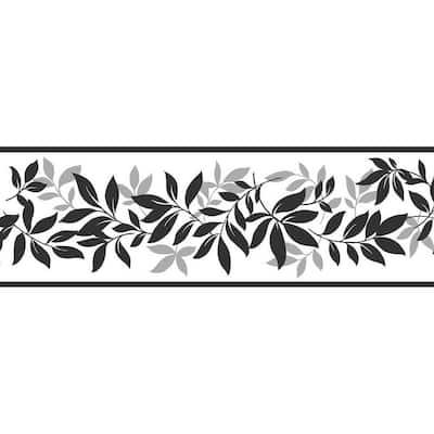 Floral Multi-Color Wallpaper Border