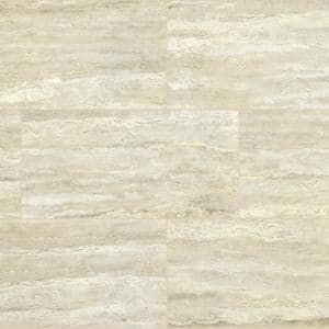 Pietra Trevi White 12 in. x 24 in. Polished Porcelain Floor and Wall Tile (16 sq. ft./Case)